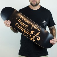 Preservation Board Company Classic Logo Deck in stock.