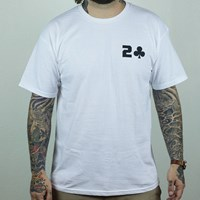 $20.00 Lowcard Magazine Mileage T Shirt, Color: White