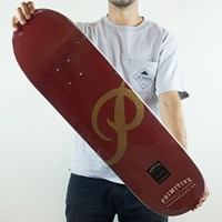 $50.00 Primitive Classic P Team Deck, Color: Maroon
