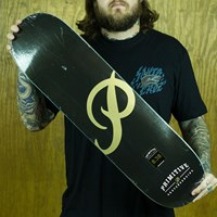 $50.00 Primitive Classic P Team Deck, Color: Black