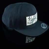 $28.00 Slave Bass Destruction Snap Back Hat, Color: Black