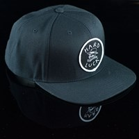 Hard Luck Mfg OG Snap Back Hat, Color: Black in stock.