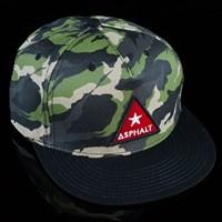 Asphalt Yacht Club Camo Snap Back Hat, Color: Camo in stock.
