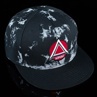 Asphalt Yacht Club Kaleidoscope Snap Back Hat, Color: Black in stock.