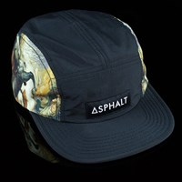 Asphalt Yacht Club The Fall Camp Hat, Color: Black in stock.