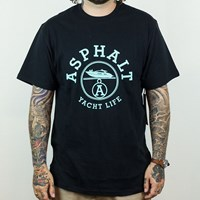 $25.00 Asphalt Yacht Club Paris T Shirt, Color: Black
