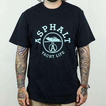Asphalt Yacht Club Paris T Shirt Black