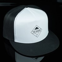 The Boardr The Boardr Trucker Hat, Color: Black, White in stock.
