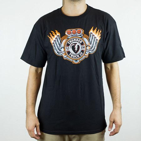 Thunder Trucks Super Charged T Shirt Black