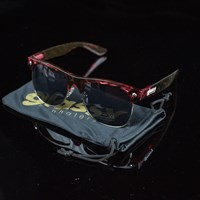 Glassy Sunhaters Shredder Sunglasses, Color: Red Tortoise in stock.