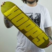 $50.00 Hopps Big Hopps Deck, Color: Yellow