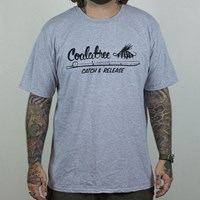 $27.00 Coalatree Organics Catch And Release T Shirt, Color: Grey