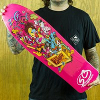 $70.00 Santa Cruz Grosso Toybox Special Edition Reissue Deck, Color: Pink