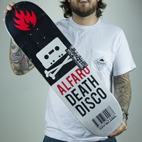 $50.00 Black Label Adam Alfaro Death Disco Deck