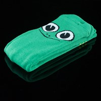 $8.00 Toy Machine Turtle Boy Socks, Color: Green