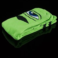 Toy Machine Sect Eye III Socks, Color: Green in stock.