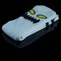 Toy Machine Monster Face Socks, Color: White in stock.