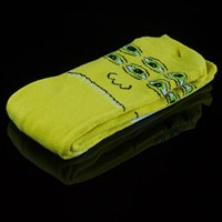 Toy Machine Transmissionator Socks, Color: Yellow in stock.