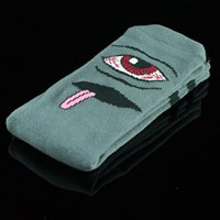 $8.00 Toy Machine Bloodshot Eye Socks, Color: Black