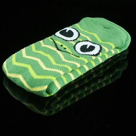 Toy Machine Turtle Stripe Socks Green