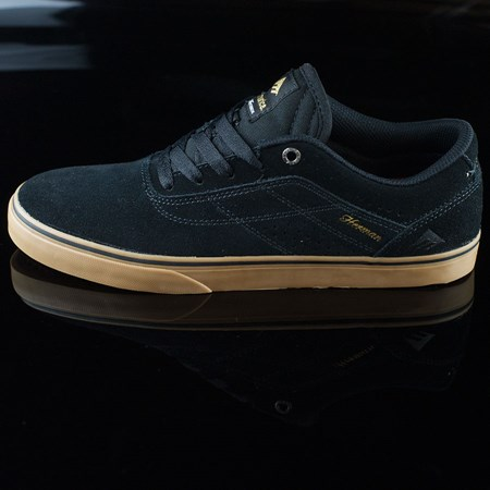 Size 7 in Emerica The Herman G6 Vulc Shoes, Color: Black, Gum