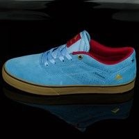 $65.00 Emerica The Herman G6 Vulc Shoes, Color: Light Blue
