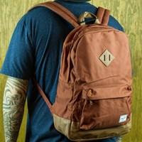 Herschel Heritage Backpack, Color: Rust in stock.