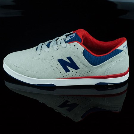 NB# Stratford Shoes Light Grey, Estate Blue