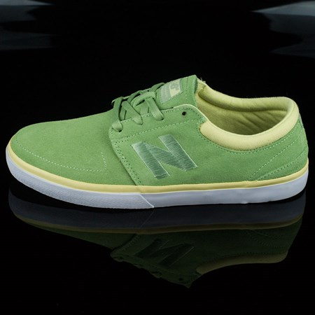 NB# Brighton Shoes Fair Green, Solar Yellow