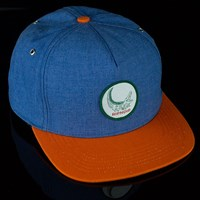 $36.00 RIPNDIP Swamp Snapback Hat, Color: Blue, Orange
