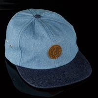 $36.00 RIPNDIP Denim Snapback Hat, Color: Blue