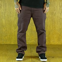 Levi's 513 Line 8 Pants, Color: Rum Melange in stock.