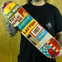 Toy Machine Layton Signs Deck in stock.