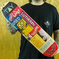 Toy Machine Lutheran Signs Deck in stock.