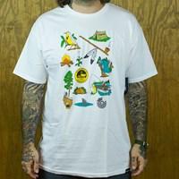 $20.00 Organika Trail T Shirt, Color: White