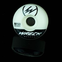 $36.00 Wreck Wheels Original Cut RF Wheels, Color: White