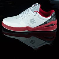 etnies Marana E-Lite Shoes, Color: White, Grey, Red in stock.