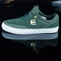 etnies Marana Vulc Shoes, Color: Dark Green in stock.