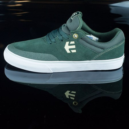 Size 10.5 in etnies Marana Vulc Shoes, Color: Dark Green