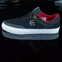 etnies Marana Vulc Shoes, Color: Black in stock.