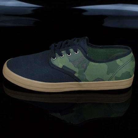 Emerica The Wino Shoes, Color: Black, Camo