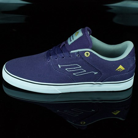 Emerica The Reynolds Low Vulc Shoes, Color: Purple