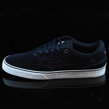 Size 11 in Emerica The Reynolds Low Vulc Shoes, Color: Navy, White, Gum
