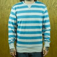 Levi's Heathered Crew Sweatshirt, Color: Heather Grey, Blue in stock.