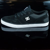DC Shoes Nyjah Vulc Shoes, Color: Black in stock.