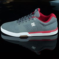 DC Shoes Cole Lite 2 Shoes, Color: Grey, Red in stock.