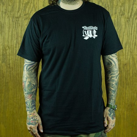 HUF The Last Party T Shirt Black