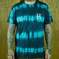 $36.00 HUF Static Wash Classic H T Shirt, Color: Jade