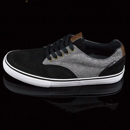 Dekline TimTim Shoes Black, Pewter