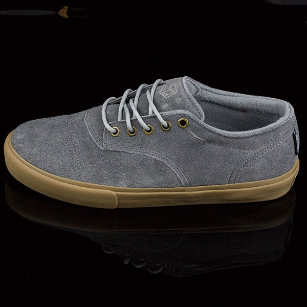 Dekline Jaws Shoes Mid Grey, Gum